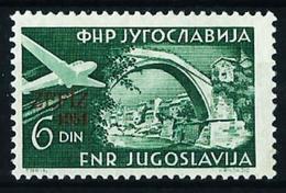 Yugoslavia Nº A-41 (sobrecarga) Nuevo - Airmail