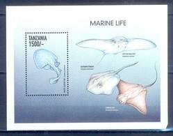 C120- Tanzania 1999 Marine Mammals Fish. - Fishes