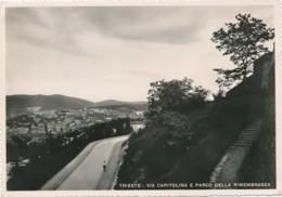 2a.506. TRIESTE - Via Capitolina E Parco Della Rimembranza - 1941 - Trieste