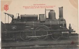 """Collection Fleury"""" Les Locomotives """" Machine De La Cie P.L.M Service Des Voyageurs Modèle N° 857 - Matériel"""