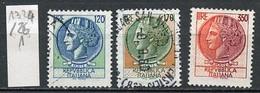 Italie - Italy - Italien 1977 Y&T N°1324 à 1326 - Michel N°1592 à 1594 (o) - Monnaie Syracusaine - 1971-80: Usados