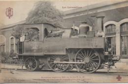 """Collection Fleury"""" Les Locomotives """" Machine De La Cie P.L.M Ancienne Machine 900 - Equipment"""