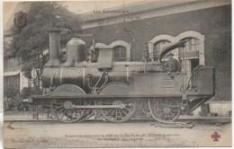 """Collection Fleury"""" Les Locomotives """" Machine De La Cie P.L.M Ancienne Machine 900 Faisant Le Service Du Lavage - Equipment"""