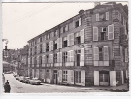 88 PLOMBIERES Les BAINS Rue Liétard Et Hôtel Resal ,voitures Année 1950 Citroen 2 CV , Renault Dauphine - Plombieres Les Bains