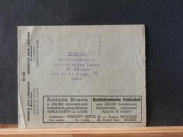 85/653  ENVELOPPE POSTCHEQUES  1936 ILLUSTRE - Documents De La Poste