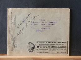 85/656  ENVELOPPE POSTCHEQUES  1937 ILLUSTRE - Documents De La Poste