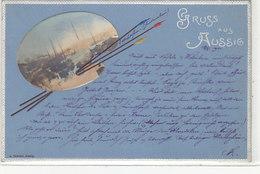 Gruss Aus Aussig - Oesterr.Frankatur - Superprägekarte - 1901     (A-178-190912) - Tchéquie