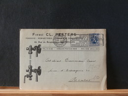 85/659  CP  BELG. 1933   FLAMME  WAERECHEM GRANDES COURSE - Belgien