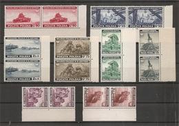 Gouvernement En Exil à Londres ( 1/8 XXX -MNH- En Paires) - 1939-44: World War Two