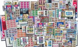 Départ 1 Euro  Collection + 100 Blocs COTE + 500 Euros Jeux Olympiques Olympic Animaux Animals Topics -100 Photos à Voir - Sellos