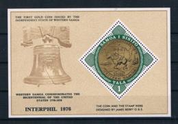 Samoa 1976 200 Jahre Vereinigte Staaten Block 11 ** - Samoa (Staat)