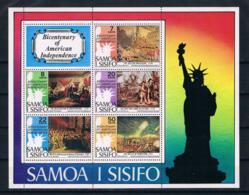Samoa 1976 200 Jahre Vereinigte Staaten Block 10 ** - Samoa (Staat)