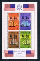 Turks & Caicos 1976 200 Jahre Vereinigte Staaten Block 6 ** - Turks & Caicos