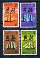 Turks & Caicos 1976 200 Jahre Vereinigte Staaten Mi.Nr. 353/56 Kpl. Satz ** - Turks & Caicos