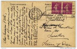 """Flamme """"5e Centenaire Jeanne D'arc Rouen 1930""""  Frappe SUPERBE S CP Rouen - Postmark Collection (Covers)"""