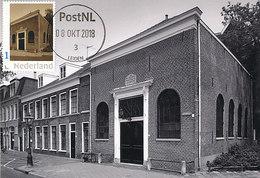D38968 CARTE MAXIMUM CARD 2018 NETHERLANDS - DUTCH SYNAGOGUE LEIDEN - CP ORIGINAL - Mosquées & Synagogues