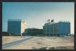 United Arab Emirates UAE Abu Dhabi Khalidia Palace Hotel Picture Postcard U A E CONDITION AS PER SCAN - Dubai