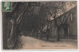 CPA 04 : VOLONNE (B.-A.) - Avenue Du Béalage - La Poste - Ed. Du Bazar Parisien - - France