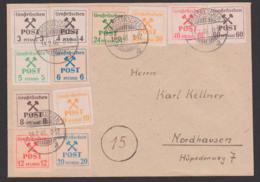 SBZ Grossräschen Lokalausgabe Satz-Brief Verschiedene Papiere 14.2.46 - Sovjetzone