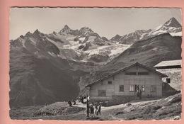 OLD POSTCARD - SWITZERLAND -  SCHWEIZ - SUISSE -     SESSENBAHN ZERMATT - SUNNEGGA - RESTAURANT - VS Valais