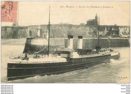 76 DIEPPE. Bateaux Et Navires. Le Steamer France 1906 - Dieppe