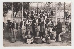 AC808 - CARTE PHOTO - Groupe De Musiciens - Chanteurs - Guitaristes - Folklore - A Identifier - Zu Identifizieren