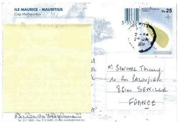 Maurice Mauritius Tromelin / Carte Lettre Cover Disputed Areas Zone Contestée Iles éparses - Maurice (1968-...)