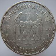 LaZooRo: Germany 5 Mark 1935 A VF / XF - Silver - [ 4] 1933-1945: Drittes Reich
