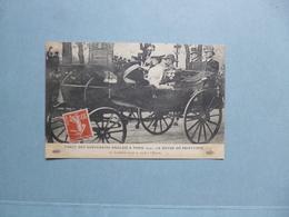 PARIS  -  75  -  Visite Des Souverains Anglais  -  1914  -  Le Landeau Royal Se Rend à L'Elysée  - - Réceptions