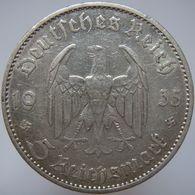 LaZooRo: Germany 5 Mark 1935 A XF - Silver - [ 4] 1933-1945: Drittes Reich