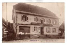 (Bade Wurtemberg) 137, Khel Bodersweier, Gasthaus Z Schan U. Keiserliche Postagentur Inh Karl Rauscher - Kehl