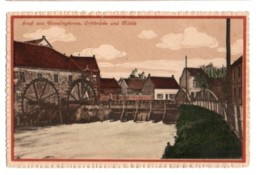 (Rhénanie Du Nord Westphalie) 182, Wevelinghoven, A Zwickards 16269, Gruss Aus Wevelinghoven, Erftbrucke Und Muhle - Other
