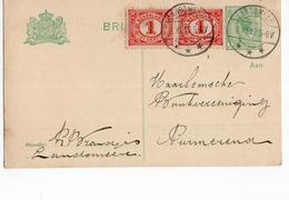 Landsmeer Langebalk - 1919 - Postal History