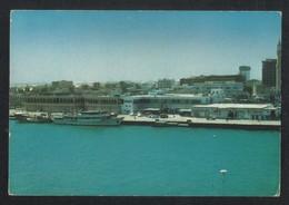 United Arab Emirates UAE Dubai Side With Ruler's Office At The Waterfront  Picture Postcard U A E - Dubai