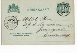 Winschoten Stadskanaal IV Grootrond Groningen - 1906 - Postal History