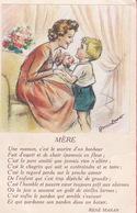 CPA - Illustrateur - Germaine Bouret - Mère - Bouret, Germaine