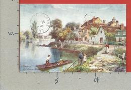CARTOLINA VG REGNO UNITO - STAINES - The Swan Hotel - 9 X 14 - 1919 VIAGGIATA IN FRANCIA - Surrey