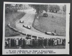 FRANCORCHAMPS: Grote Prijs 1949 - Documents Historiques