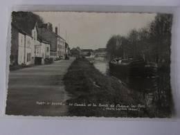 CPSM - PORT Sur SAONE - Le Canal Et La Route De Chaux Les Port - Sonstige Gemeinden