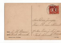 Kerk Avezaath Grootrond - 1914 - Postal History