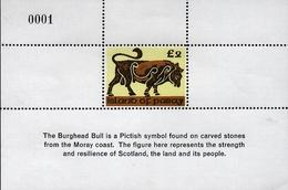 ISLE OF PABAY, British Local - 2004 - Burghead Bull -  Perf Single Stamp - M N H. - Emissione Locali