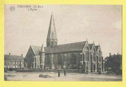 * Tiegem - Tieghem (Anzegem) * (Albert, Uitg Foto Centrale Gyselynck Kortrijk) Kerk, Church, Kirche, église, Cimetière - Anzegem