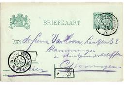 Winschoten Stadskaaal C Grootrond - 1905 - Postal History