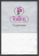 Serviette Papier Paper Napkin Tovagliolino Caffè Bar PORTIOLI L'ESPRESSO - Tovaglioli Bar-caffè-ristoranti