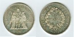 FRANCE - DUPRE - 50 FRANCS - 1975 - ARGENT - M. 50 Francs