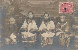 HONGAY - CARTE PHOTO - GROUPE D'ENFANT - Viêt-Nam