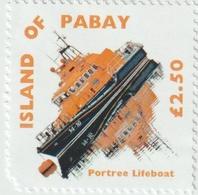 ISLE OF PABAY, British Local - 2008 - Portree Life Boat -  Perf Single Stamp - M N H. - Emissione Locali