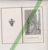 Leopold Vandersteen-Callens, Sint-Kwintens-Lennik 1878, 1962 - Obituary Notices
