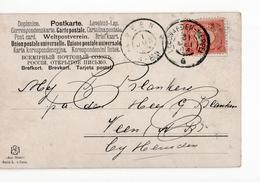 Leeuwarden Meppel G Grootrond Veen - 1904 - Postal History