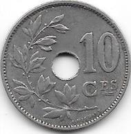 BELGIQUE 1929 - 10 Centimes - 1909-1934: Albert I